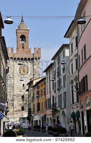 Torre Della Pallata In Brescia, Italy