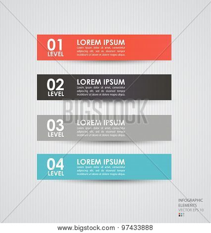 Modern infographics elements