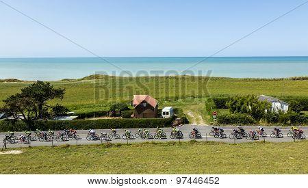 The Peloton In Normandy - Tour De France 2015