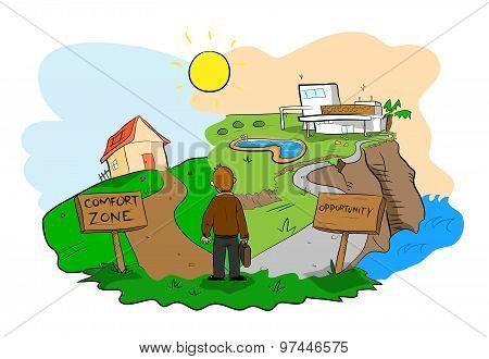 Comfort Zone VS Opportunity