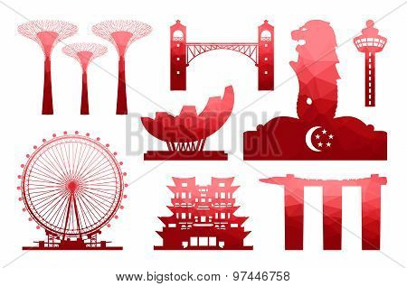 Singapore Travel Icon
