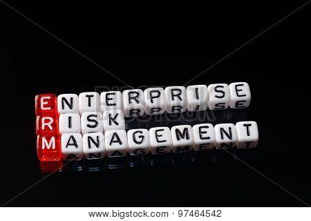 Erm Enterprise Risk Management Dices Black