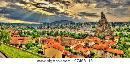 Panorama Of Le Puy-en-velay - Auvergne, France