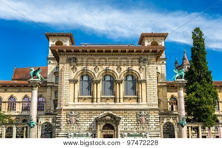 The Palais De Rumine In Lausanne - Switzerland