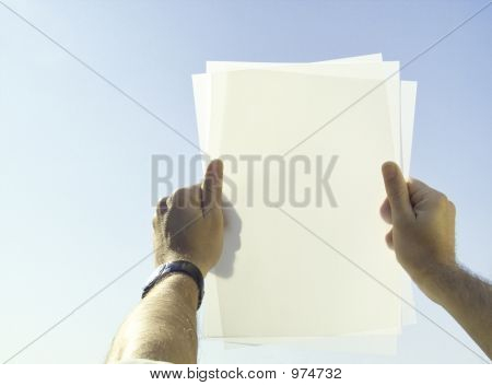 Holding Documents