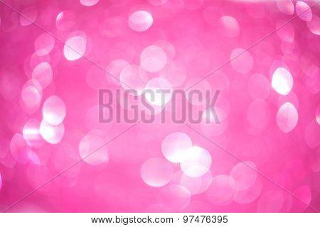 Unfocused Soft Pink Sparkle