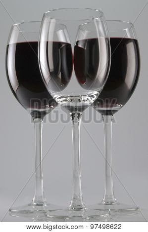 Three Wine Glases