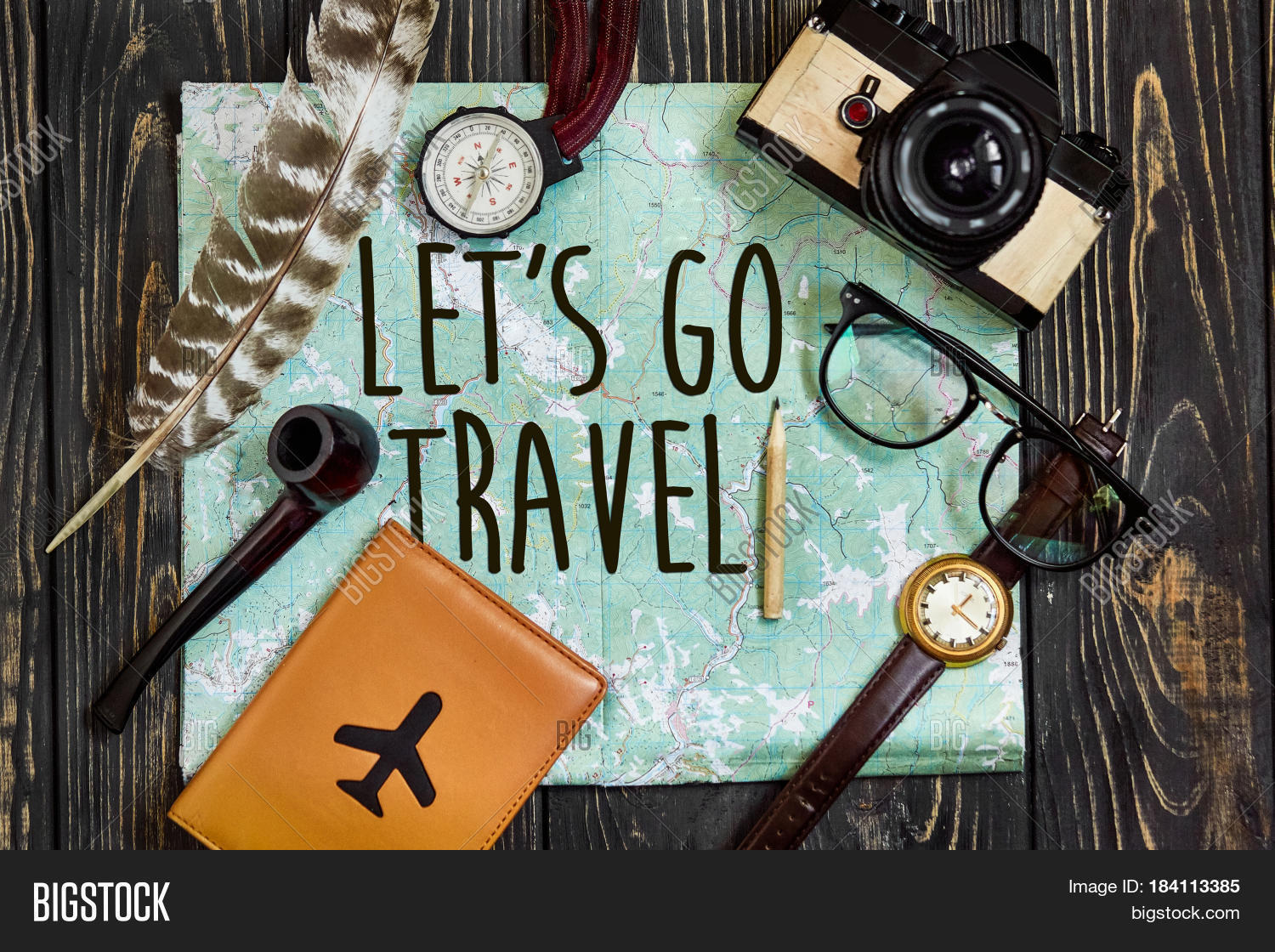 Travel Let S Go Image Photo Free Trial Bigstock