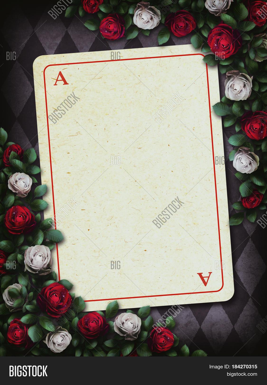 Alice Wonderland. Red Image & Photo (Free Trial) | Bigstock