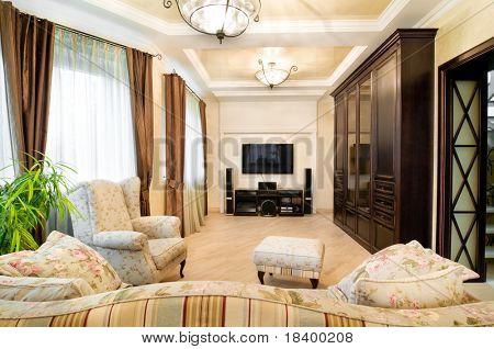 design of an interior.Classic.