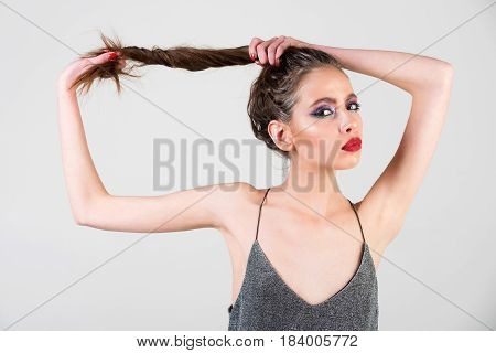 Beauty And Fashion, Makeup And Cosmetics, Youth And Sexuality, Hairdresser