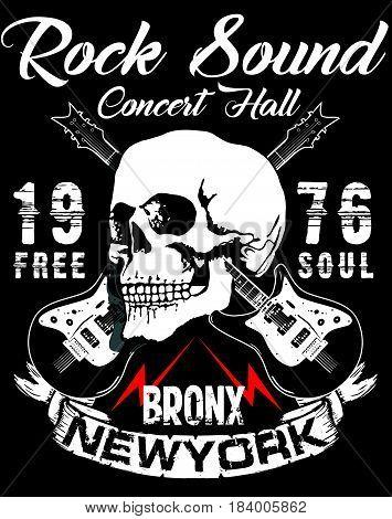 Hard Rock Music Poster fashion style poster logo