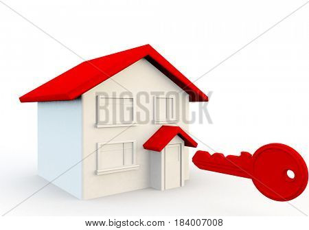 concept for new home or mortgage and finance for home buying applications