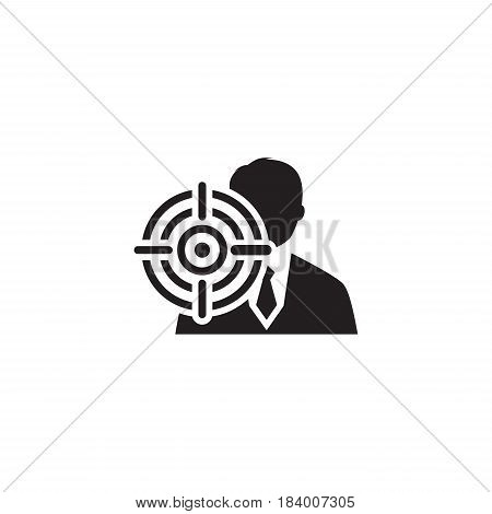 Document Flow Icon. Business Concept. Flat Design. Isolated Illustration