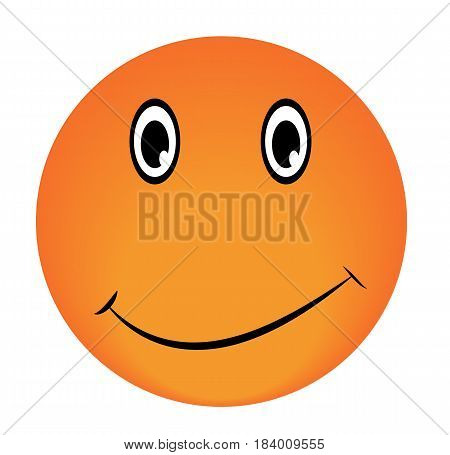 Smiley Vector happy face emotion icon approval