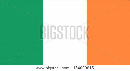 Vector Ireland flag Ireland flag illustration Ireland flag image Ireland flag picture.
