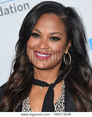 LOS ANGELES - APR 18:  Laila Ali arrives for the WE Day California 2017 on April 27, 2017 in Inglewood, CA