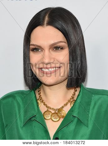 LOS ANGELES - APR 18:  Jessie J arrives for the WE Day California 2017 on April 27, 2017 in Inglewood, CA