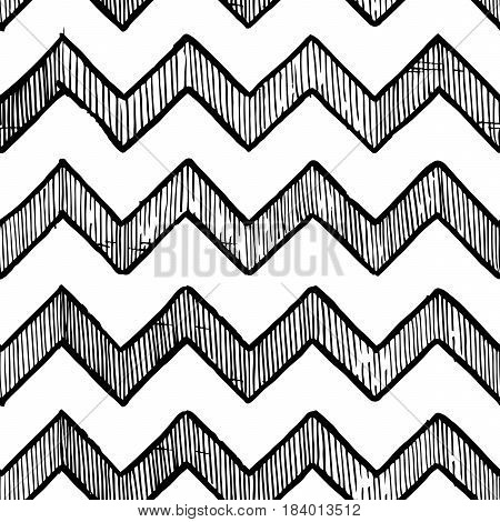 Zigzag Parallel Lines