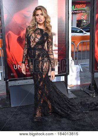 LOS ANGELES - APR 18:  Kara Del Toro arrives for the