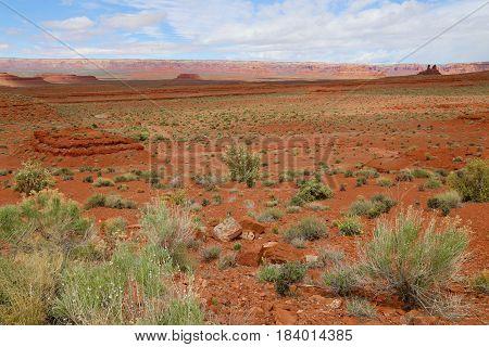 Valley of the Gods in Blanding, Utah