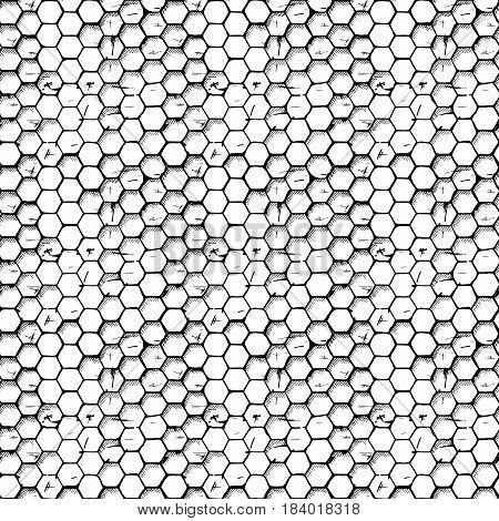 Simple Honeycomb Pattern