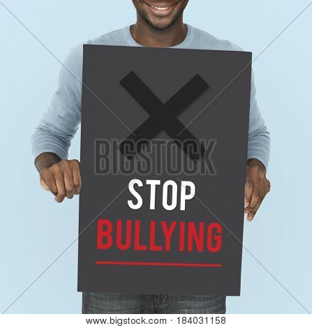 Social Problem Stop Bullying Icon
