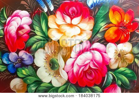 Oil Painting Impressionism style texture painting flower still life painting art painted color image wallpaper and backgrounds canvas artist painting floral pattern