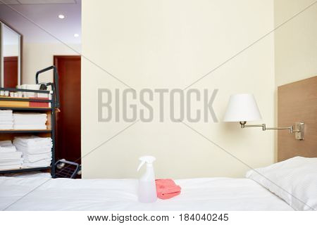 Comfortable and luxurious room in hotel