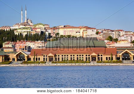 The View To The Eastern Bank Of Golden Horn, Istanbul