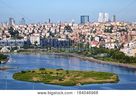 Golden Horn And Sutluce, Istanbul