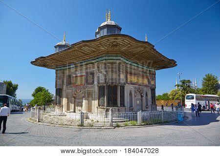Fountain Of Sultan Ahmed Iii, Istanbul