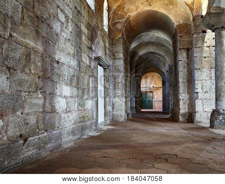 The Interior Of Hagia Irene (saint Irene), Istanbul