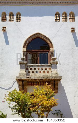 The  Oriental Style Window With Balcony In Fourth Courtyard Of Topkapi Palace, Istanbul