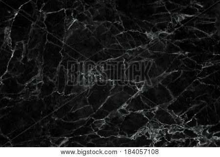 Black Marble Texture Background, Detailed Genuine Nature Marble, Luxury Wallpaper Patterns, Black Drop Surface Effect, Interior Decorating Design Ideas.