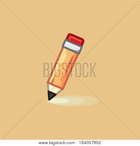 Vector icon in style linework pencil on light background. Illustration style linework pencil
