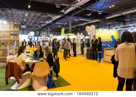 Madrid, Spain. 26 May 2017..Omexpo 2017 digital marketing fair, held in the Ifema pavilions of Madrid