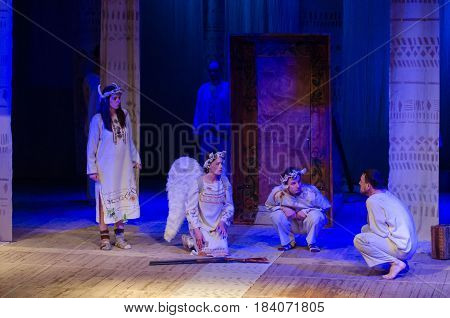 The Dramatic Performance A Simple Story