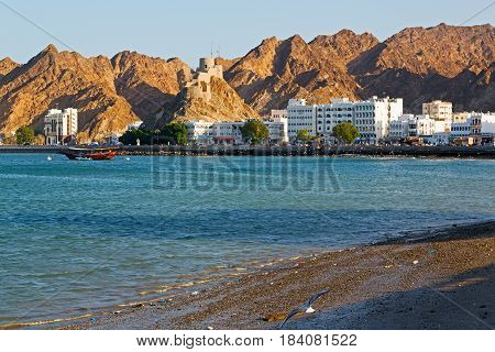 In Oman Muscat Rock  The Old Defensive