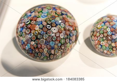 Decorated Paperweight
