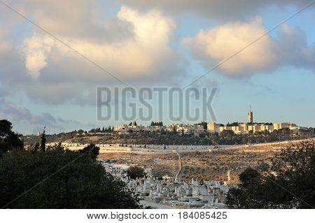Ancient And Young Jerusalem