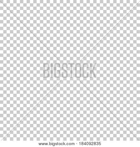 Light gray and white squares in a checkerboard pattern. Abstract background. Vector illustration.