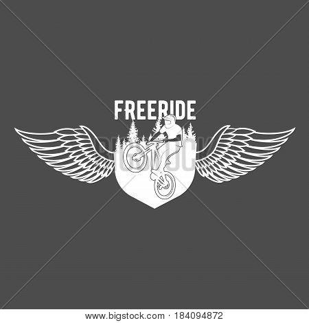 vintage and modern bicycle shop logo badge label