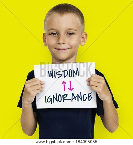 Proficiency Antonyms Wisdom Ignorance Illustration