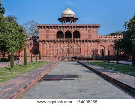 Agra, India - February 19, 2017 Discovering the Love Story Behind the Taj Mahal