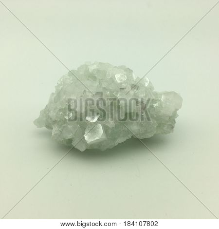 a large interesting clear crystal fluorite formation