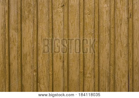 Detail Of The Side Wooden Wall Of The Rural House, Nice Structured Background