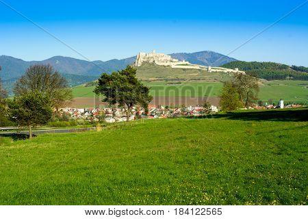 Spis Castle And Spisske Podhradie