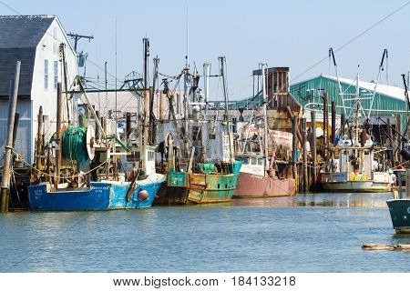 Commercial Fishing Boats In Belford, New Jersey