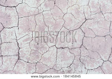 Abstract pattern lines. Pink background cracks and lines